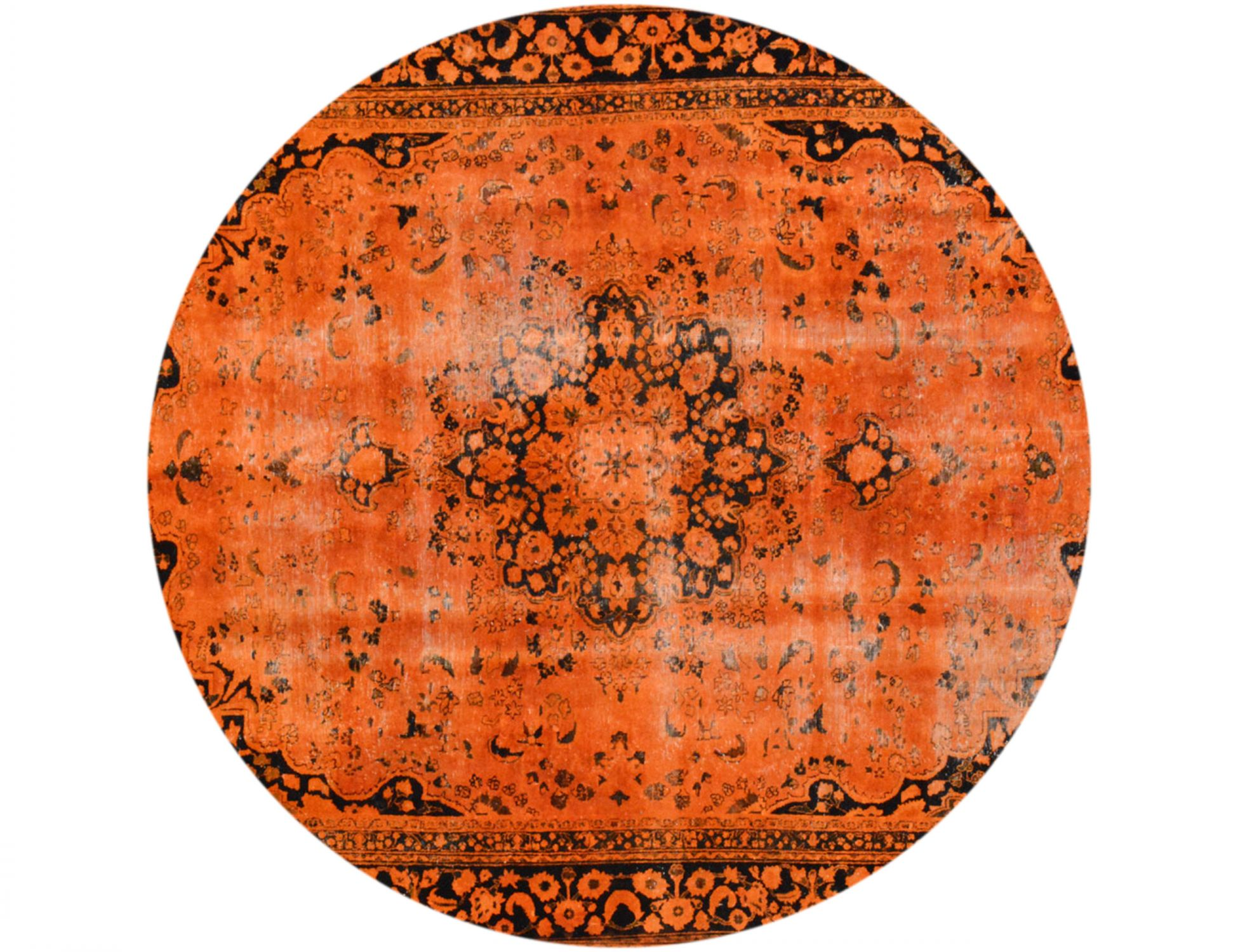 Tappeto Vintage  arancia <br/>265 x 265 cm