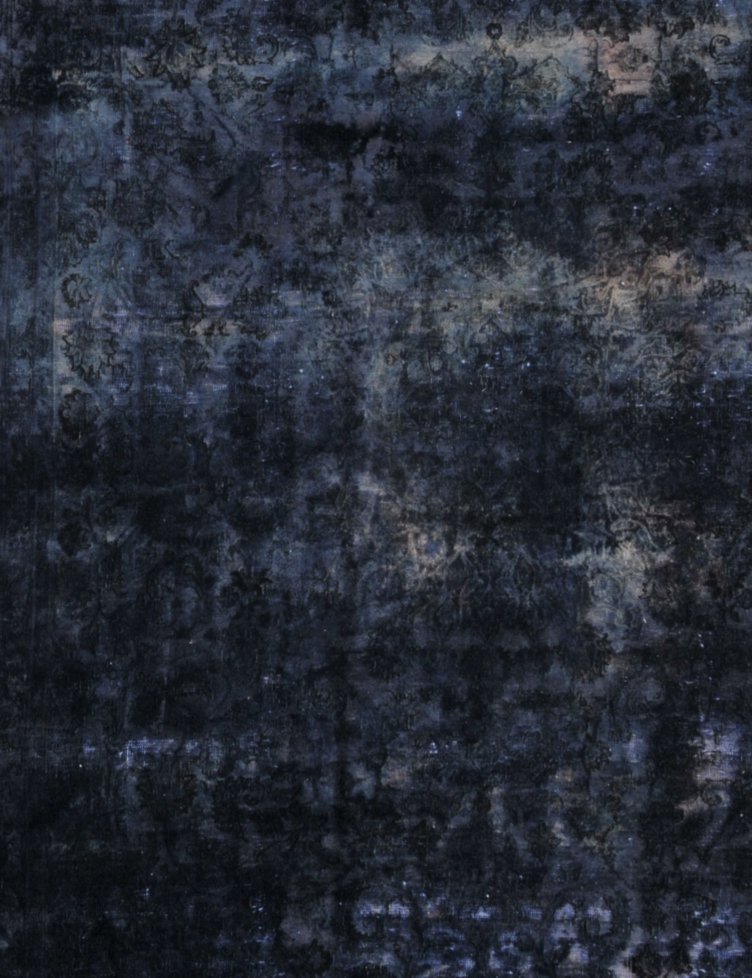 Tappeto Vintage  blu <br/>198 x 348 cm
