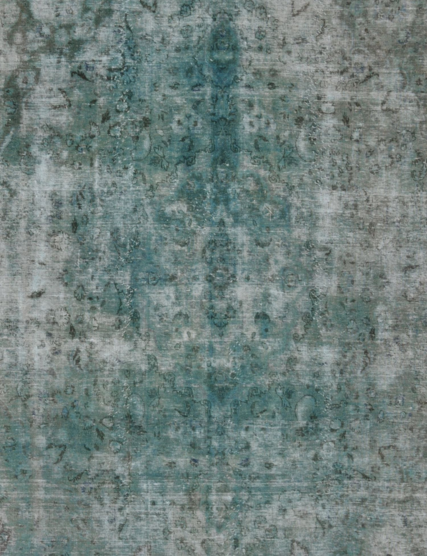 Vintage Teppich  grün <br/>380 x 292 cm
