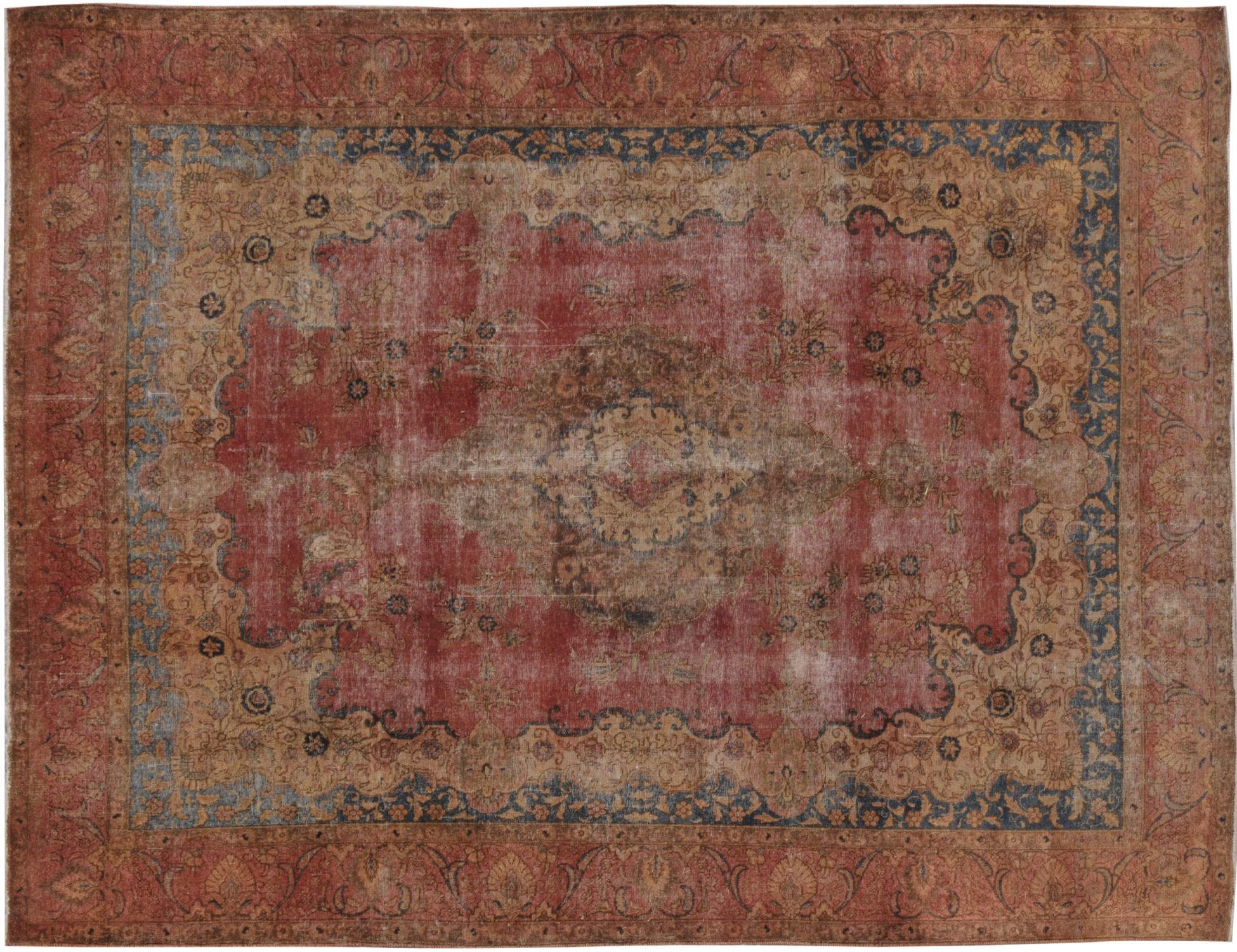Vintage Teppich  orange <br/>387 x 276 cm