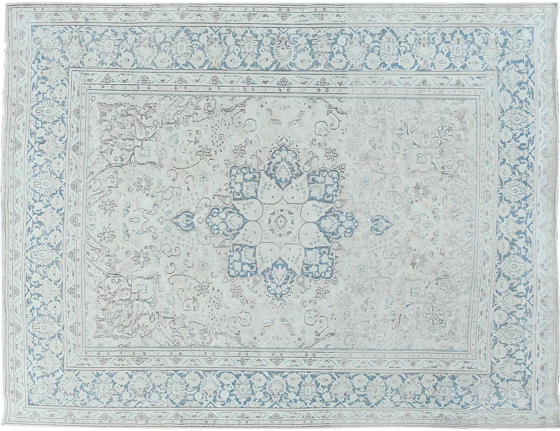 Retro Perserteppich  blau <br/>383 x 289 cm
