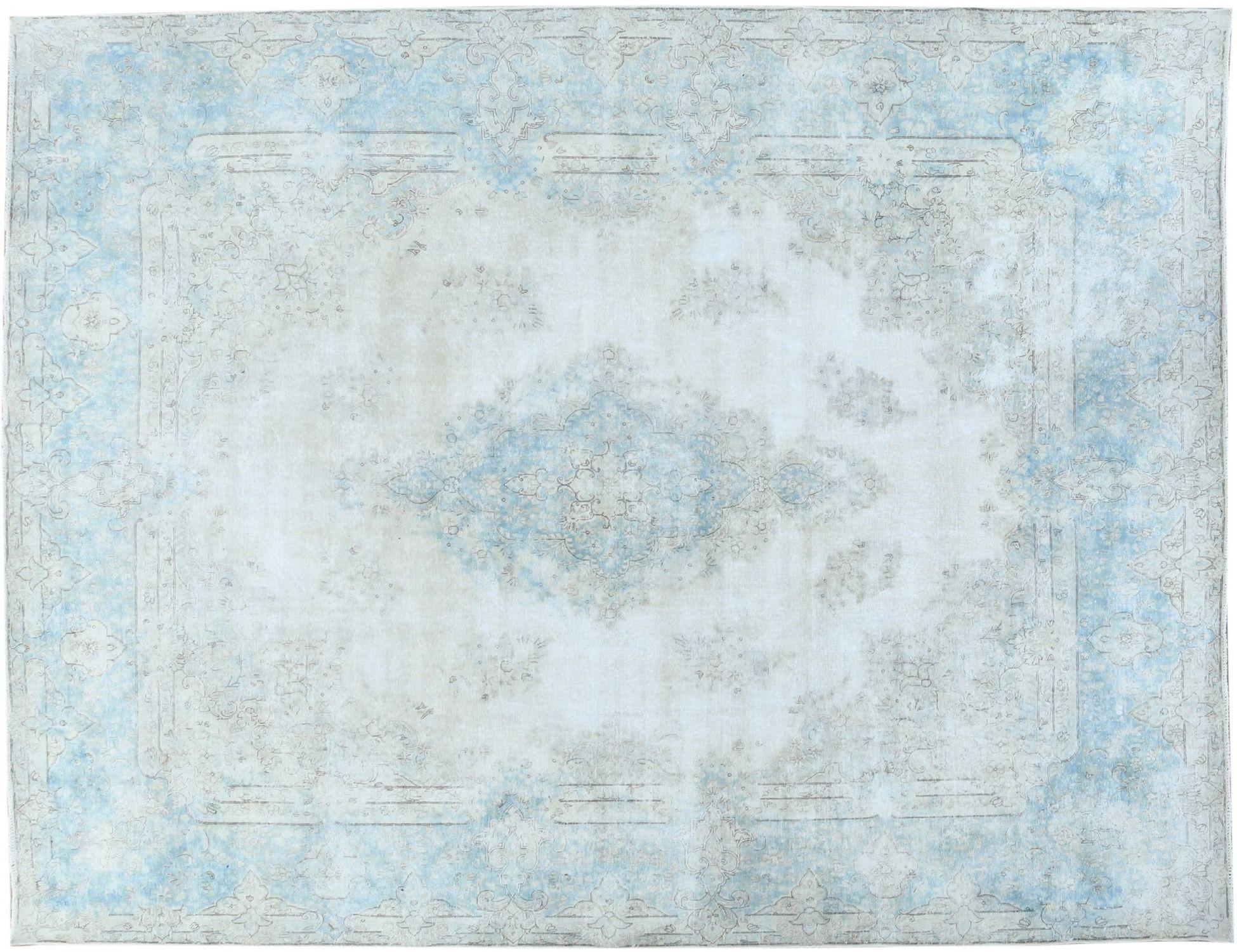 Retro Perserteppich  blau <br/>396 x 305 cm