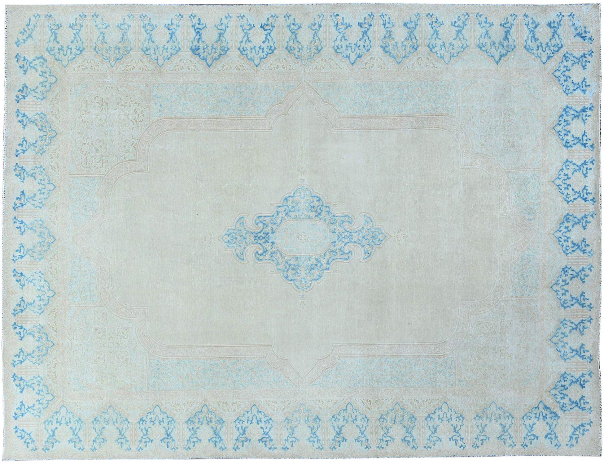 Retro Perserteppich  blau <br/>401 x 301 cm