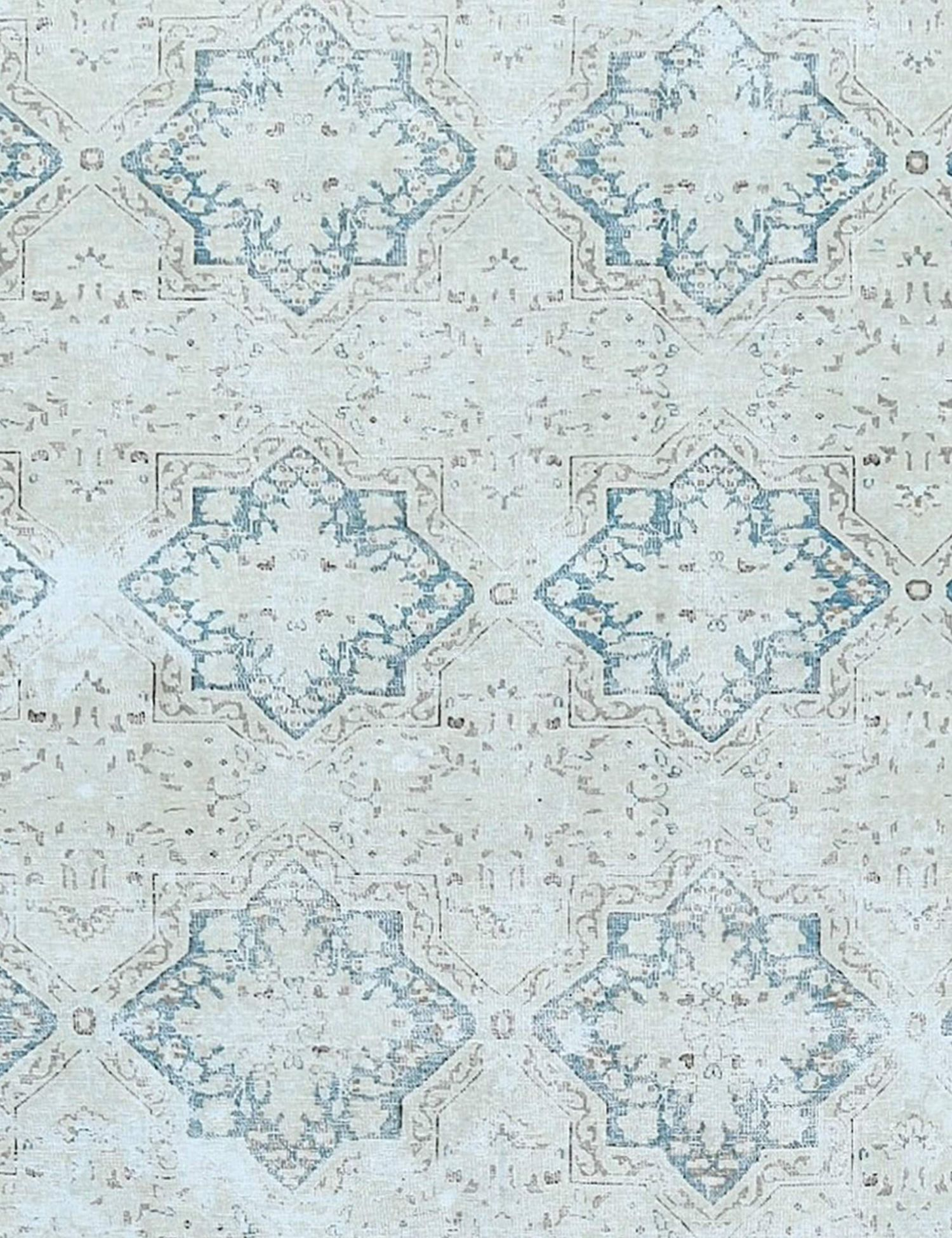 Retro Perserteppich  beige <br/>341 x 255 cm