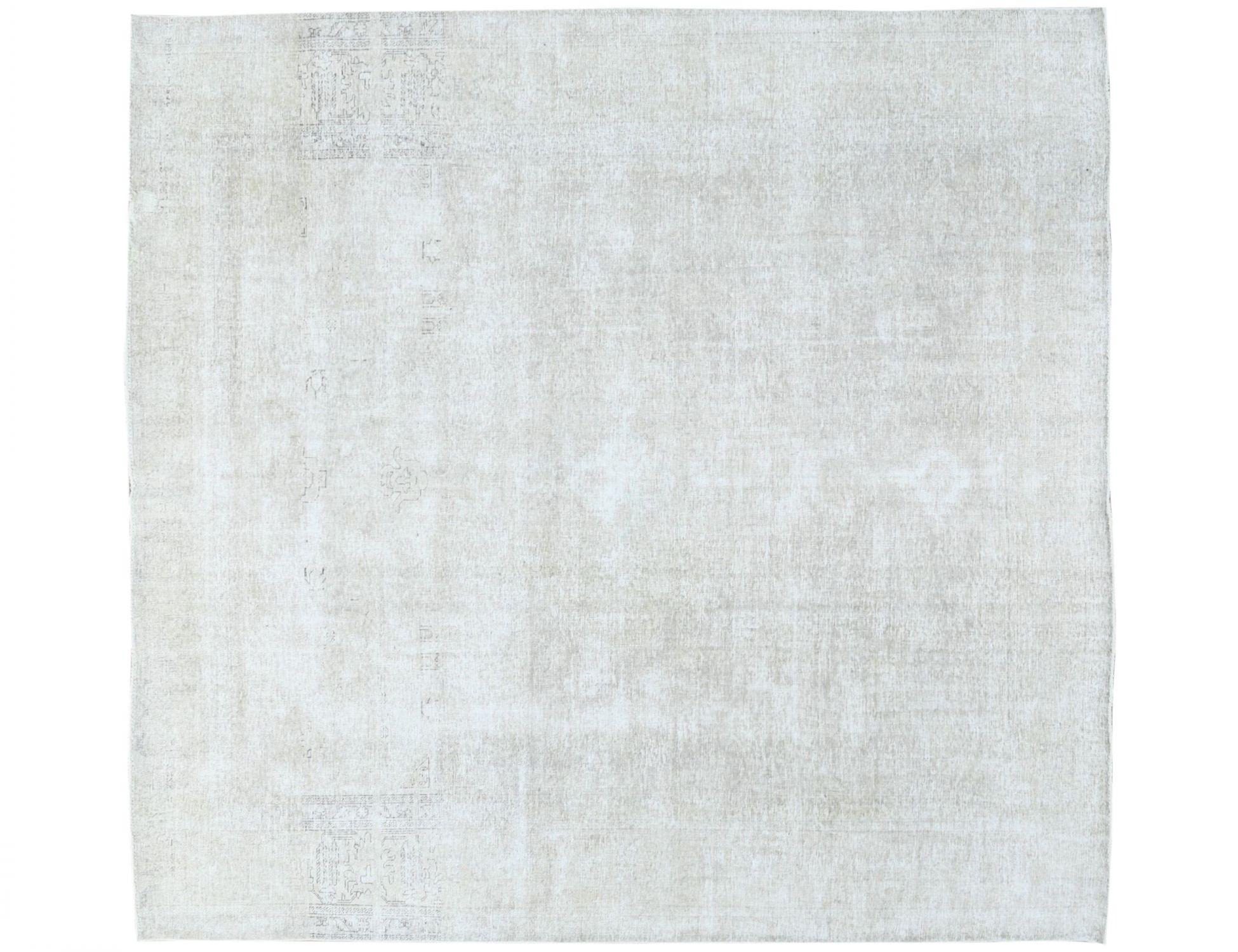 Retro Perserteppich  beige <br/>364 x 303 cm