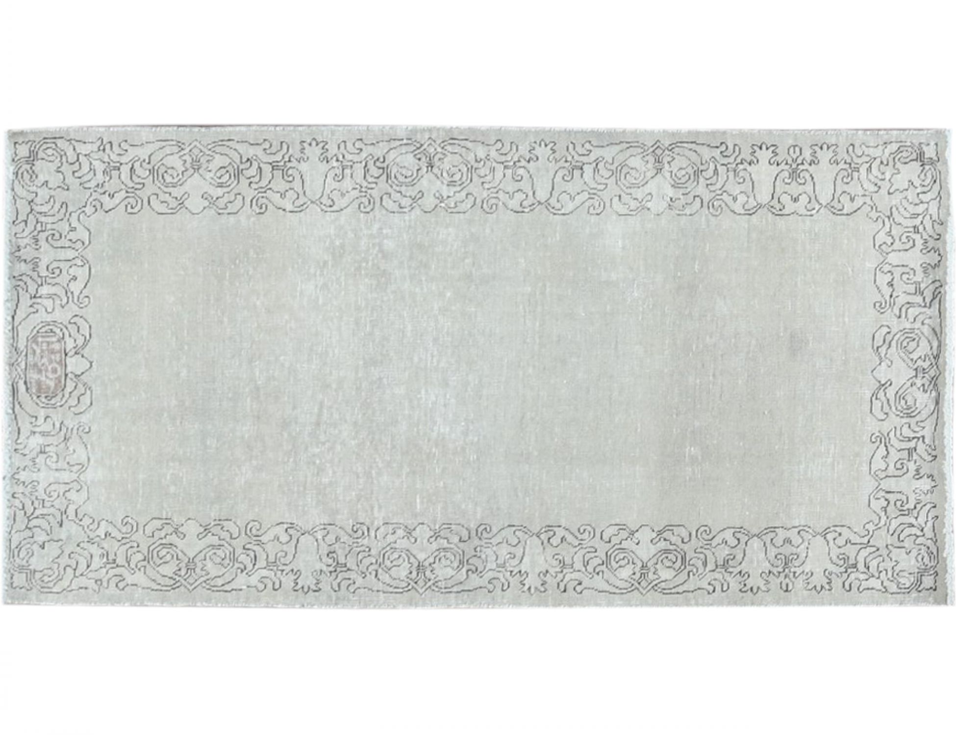 Retro Perserteppich  beige <br/>162 x 82 cm