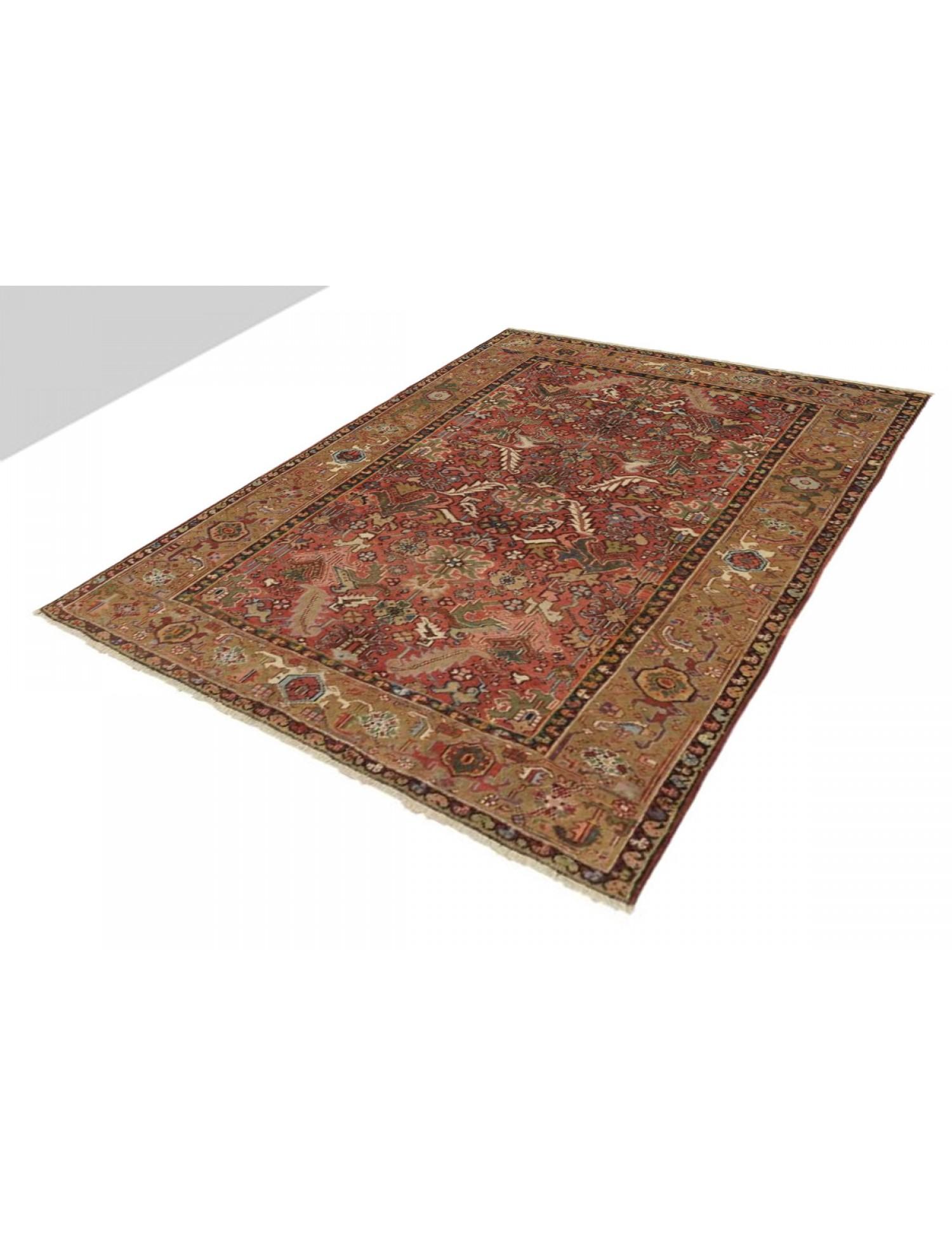 Patchwork Teppich  braun <br/>240 x 200 cm