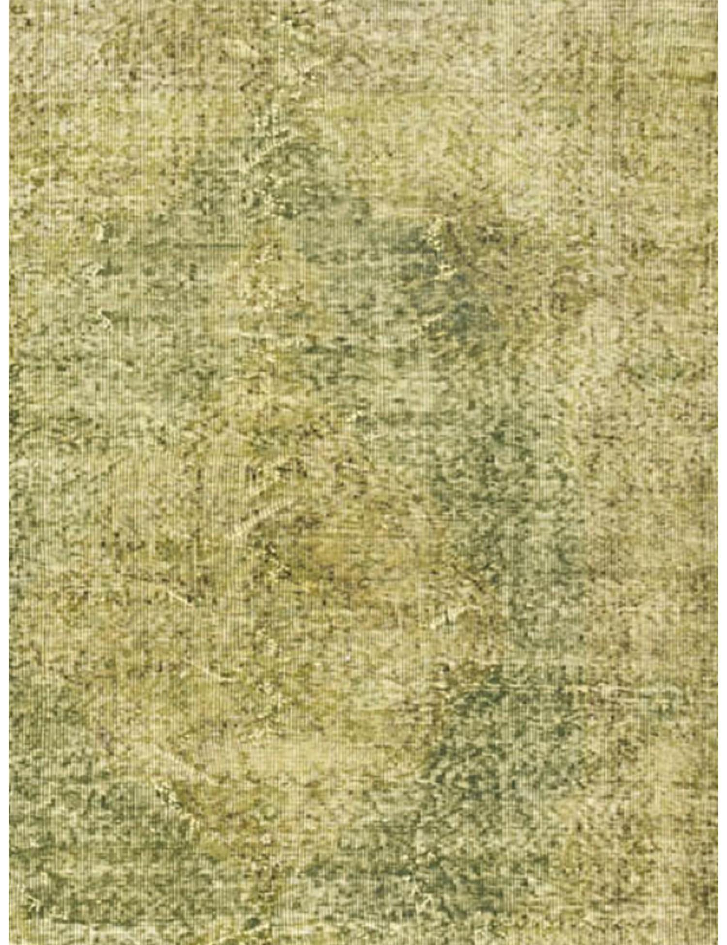 Vintage Teppich  grün <br/>201 x 111 cm