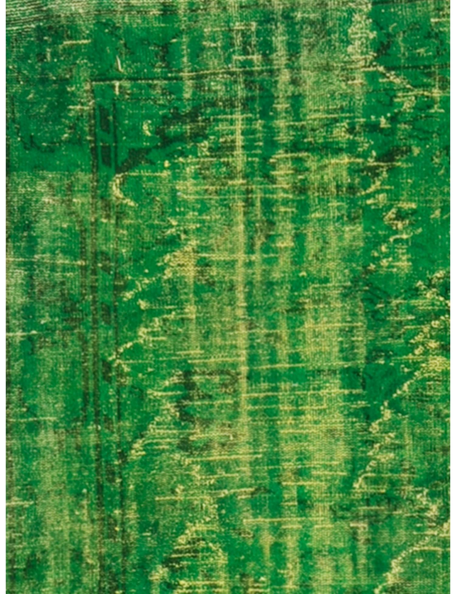 Vintage Teppich  grün <br/>304 x 224 cm