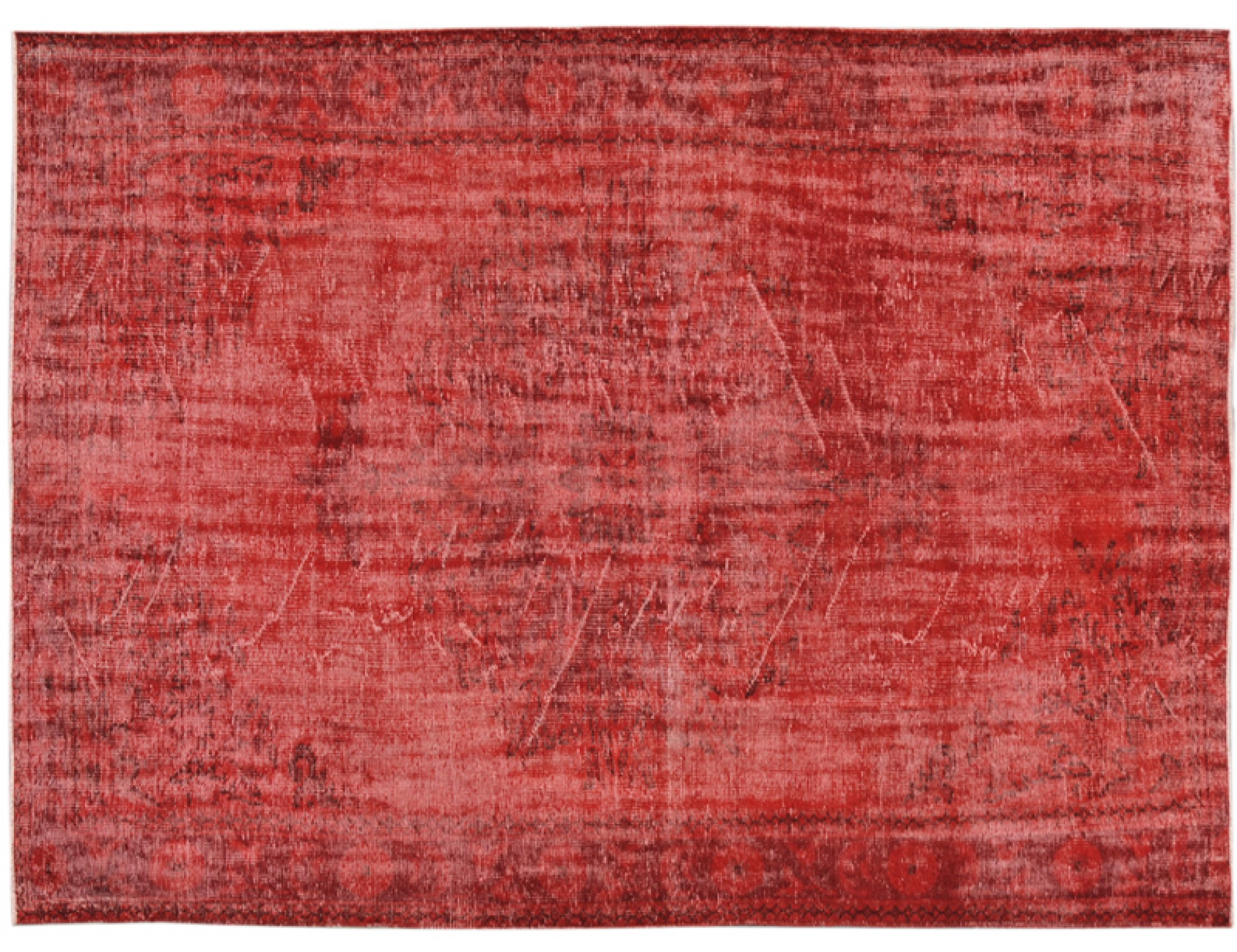 Vintage Teppich  rot <br/>293 x 191 cm