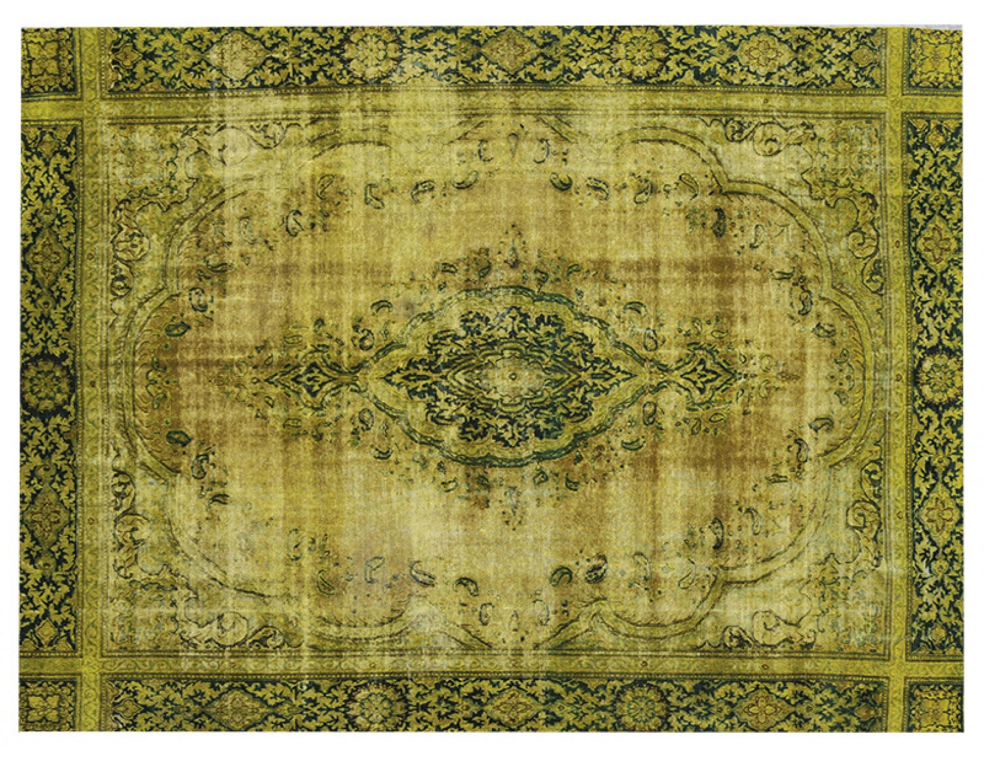 Tappeto Vintage  verde <br/>390 x 278 cm