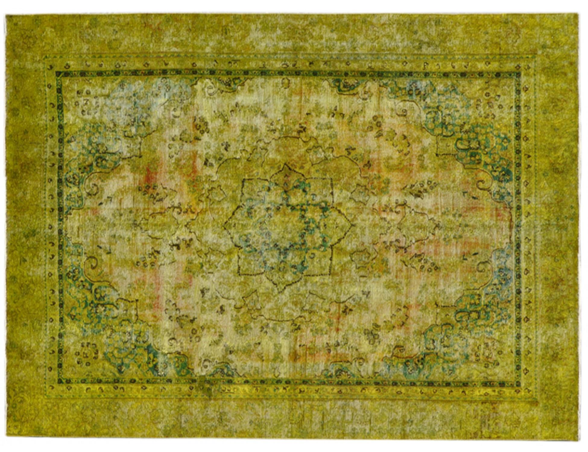 Vintage Tapis  jaune <br/>351 x 259 cm