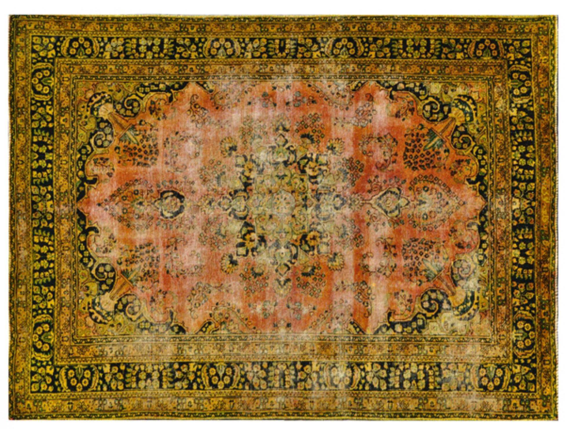 Tappeto Vintage  giallo <br/>282 x 193 cm