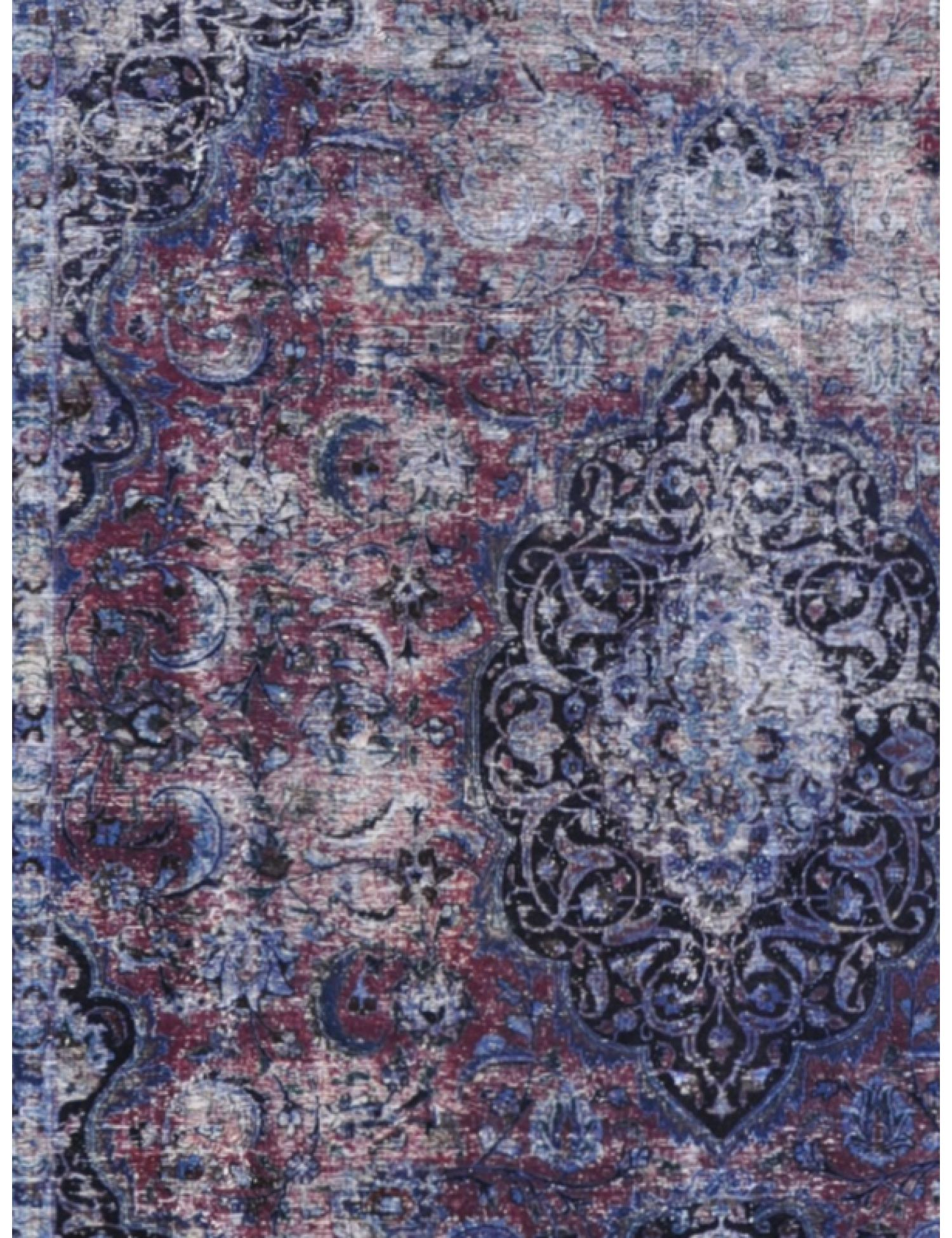 Tappeto Vintage  blu <br/>380 x 291 cm