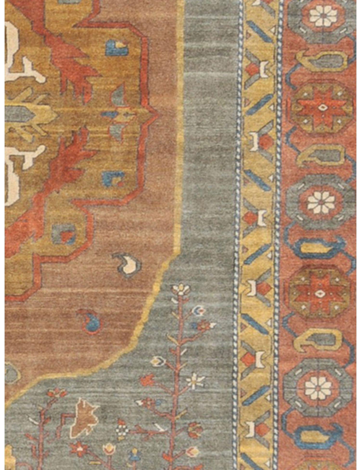 Farahan Perserteppich  braun <br/>294 x 209 cm