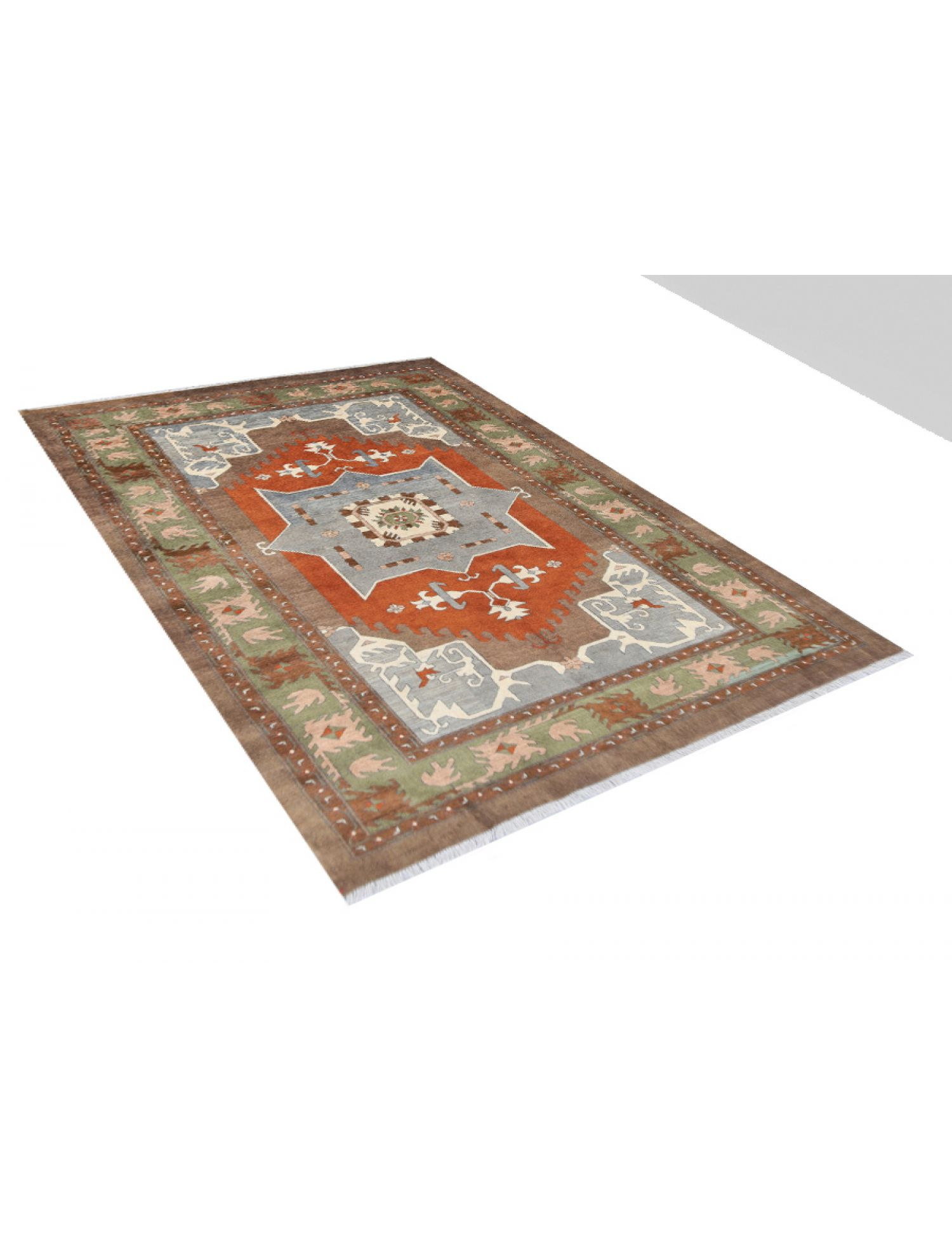 Vintage Teppich  braun <br/>284 x 196 cm