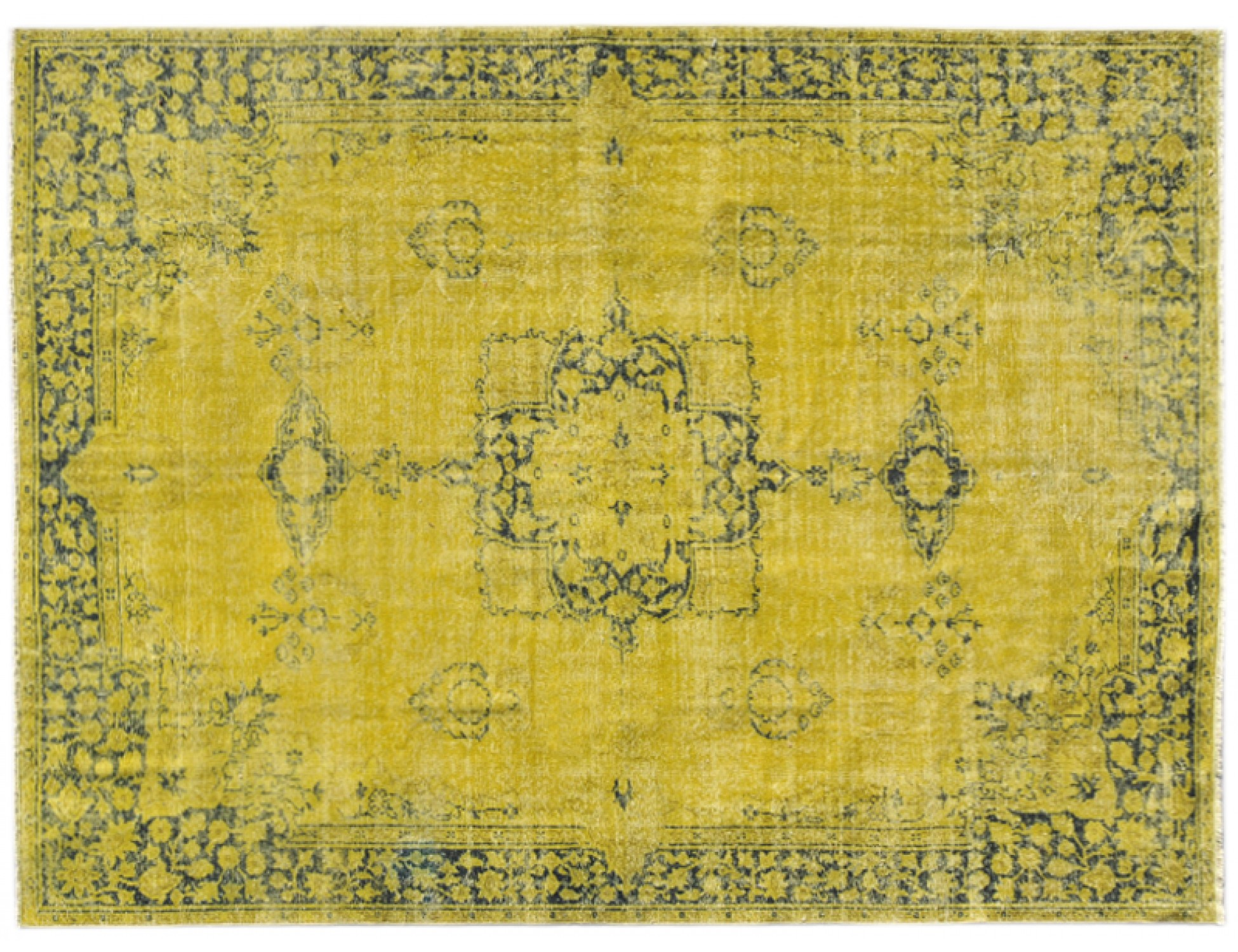 Tappeto Vintage  giallo <br/>302 x 225 cm