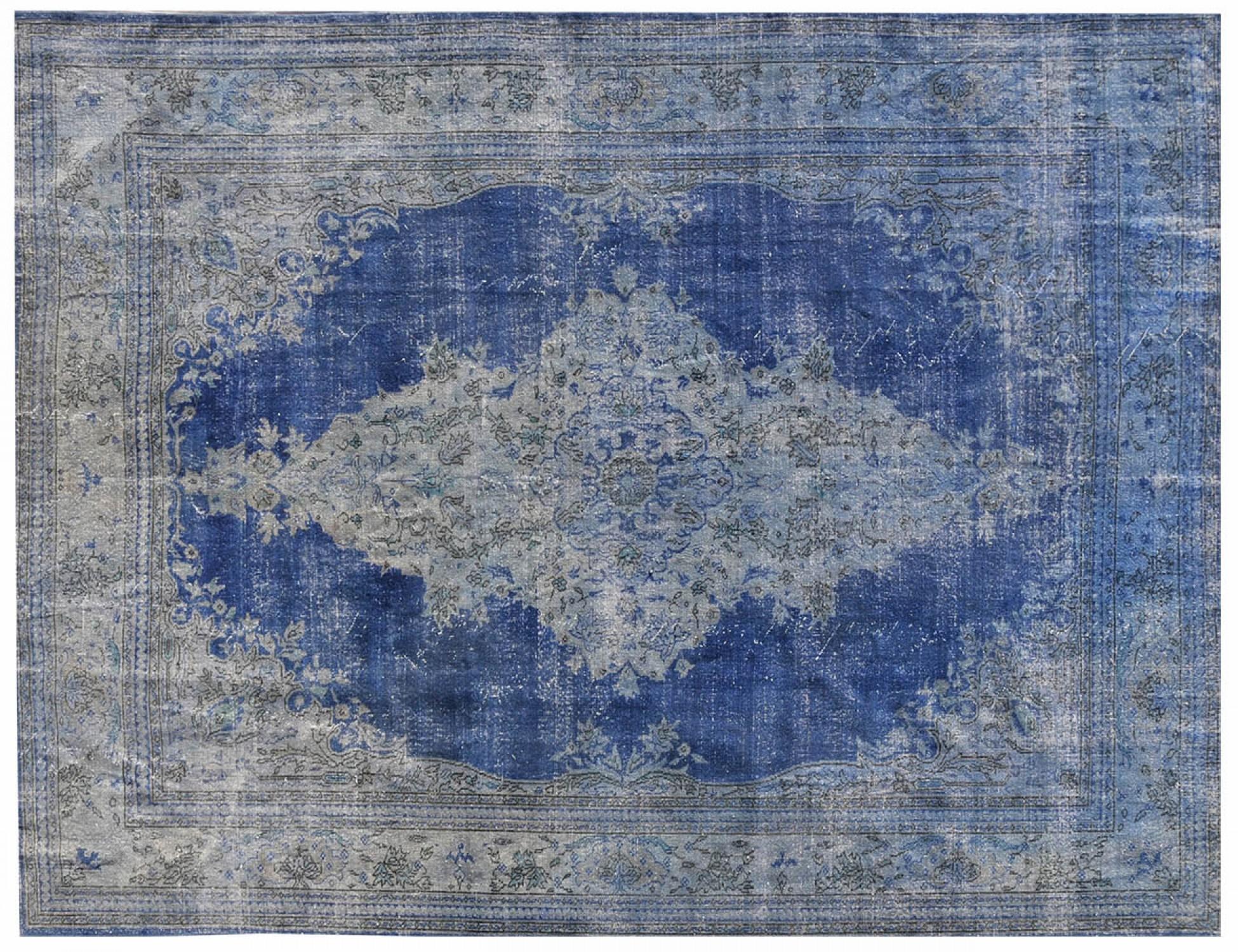 Vintage Tapis  bleu <br/>350 x 270 cm