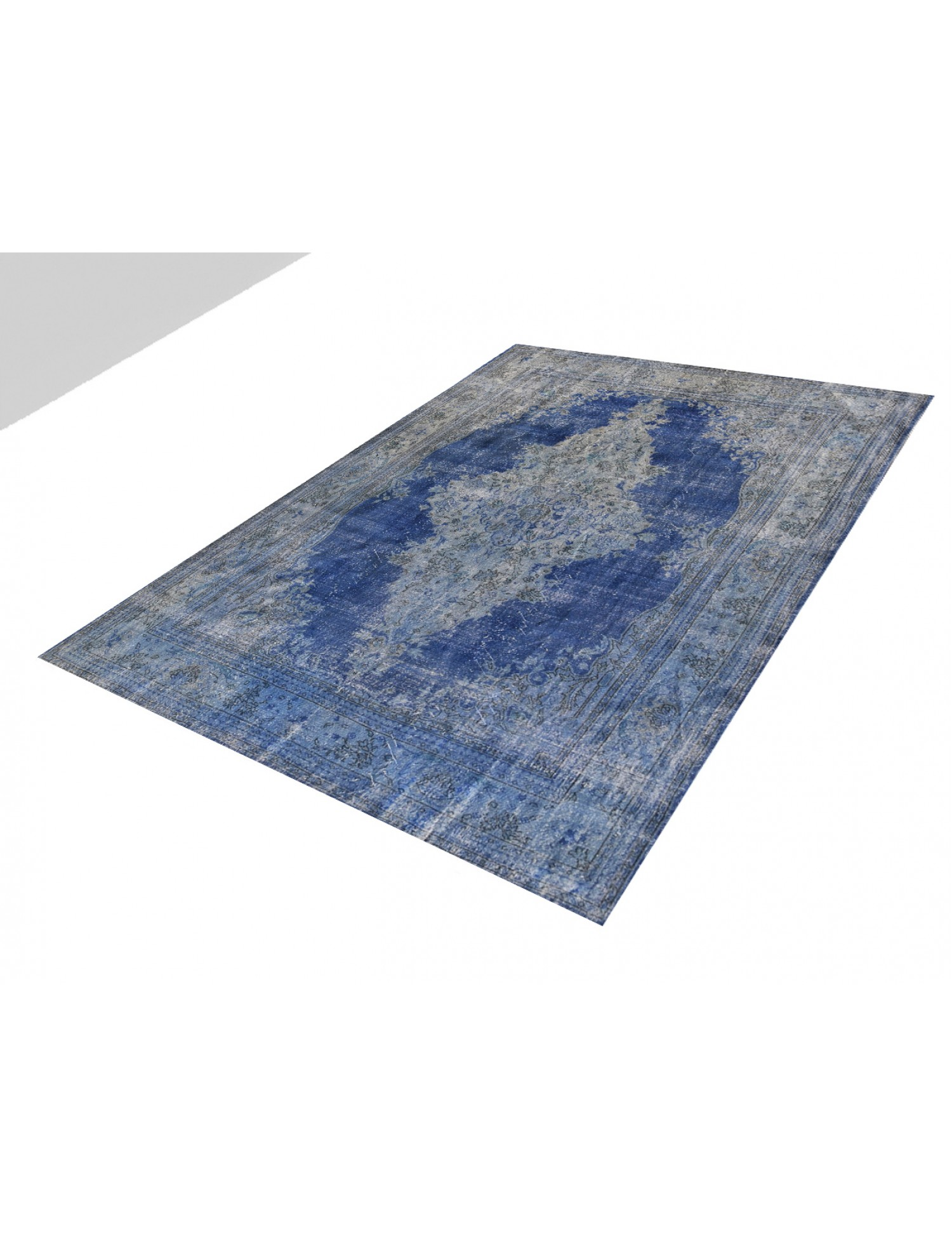 Tappeto Vintage  blu <br/>350 x 270 cm