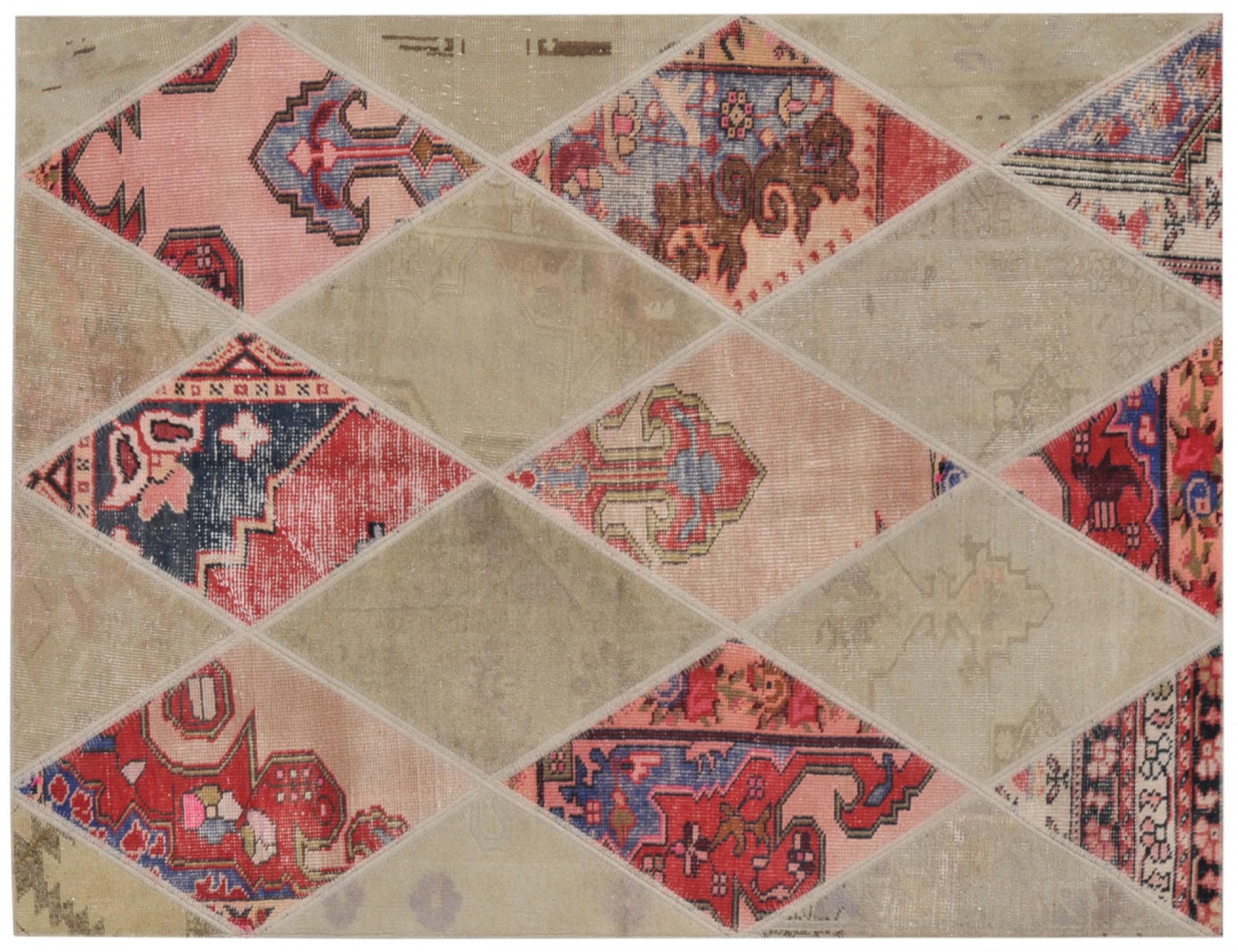 Tappeto Patchwork  multi colore <br/>198 x 126 cm
