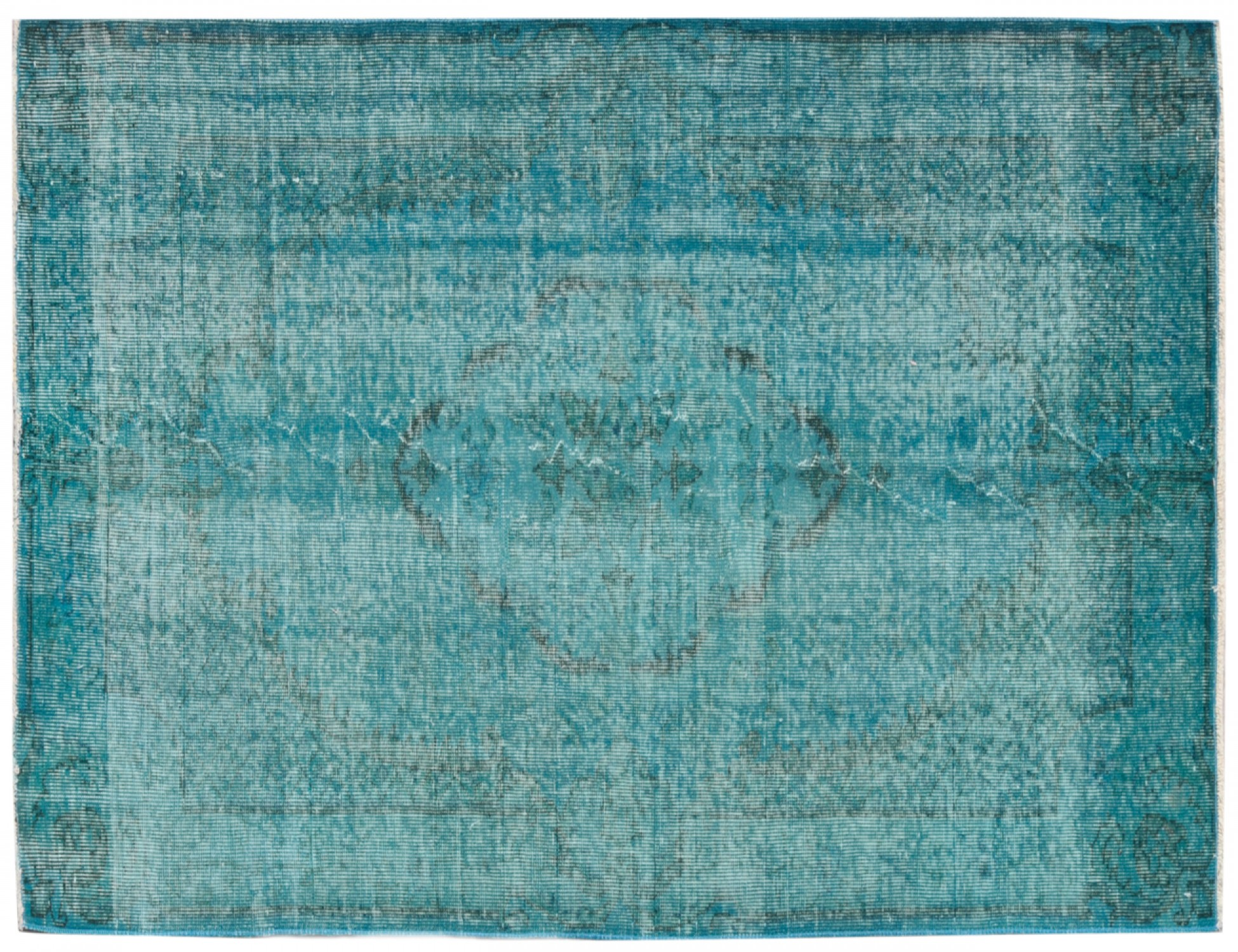 Vintage Teppich  blau <br/>197 x 114 cm