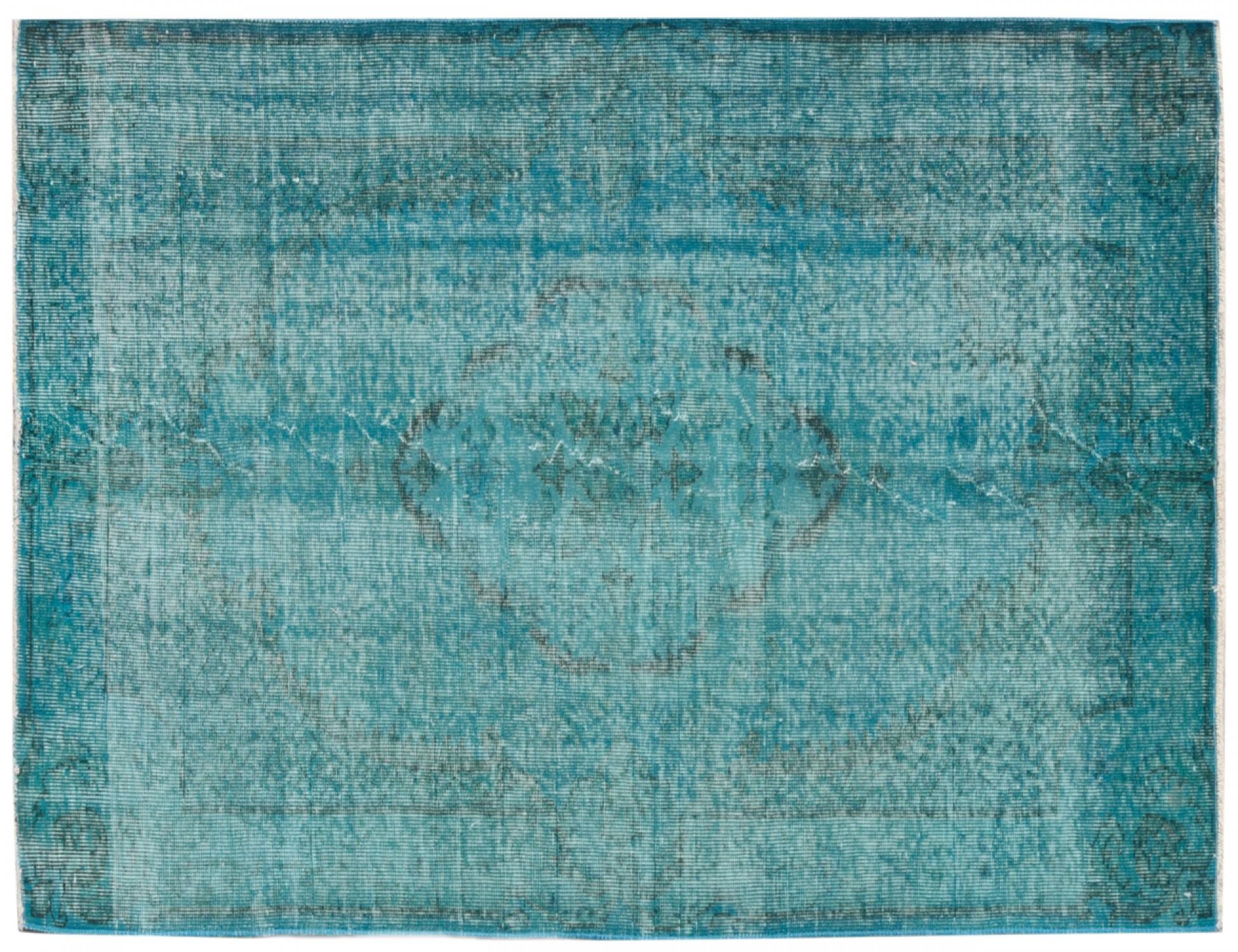 Tappeto Vintage  blu <br/>197 x 114 cm