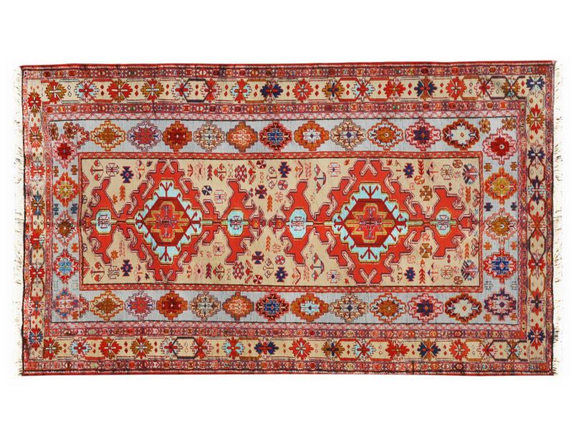 PERSIAN SILK KILIMS  gelb <br/>210 x 123 cm