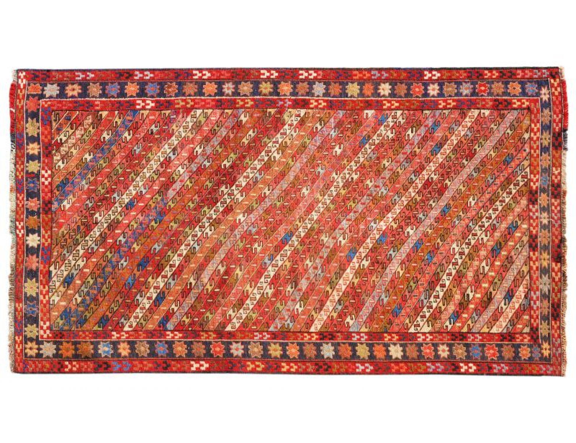 PERSIAN WOOL KILIMS   <br/>202 x 113 cm
