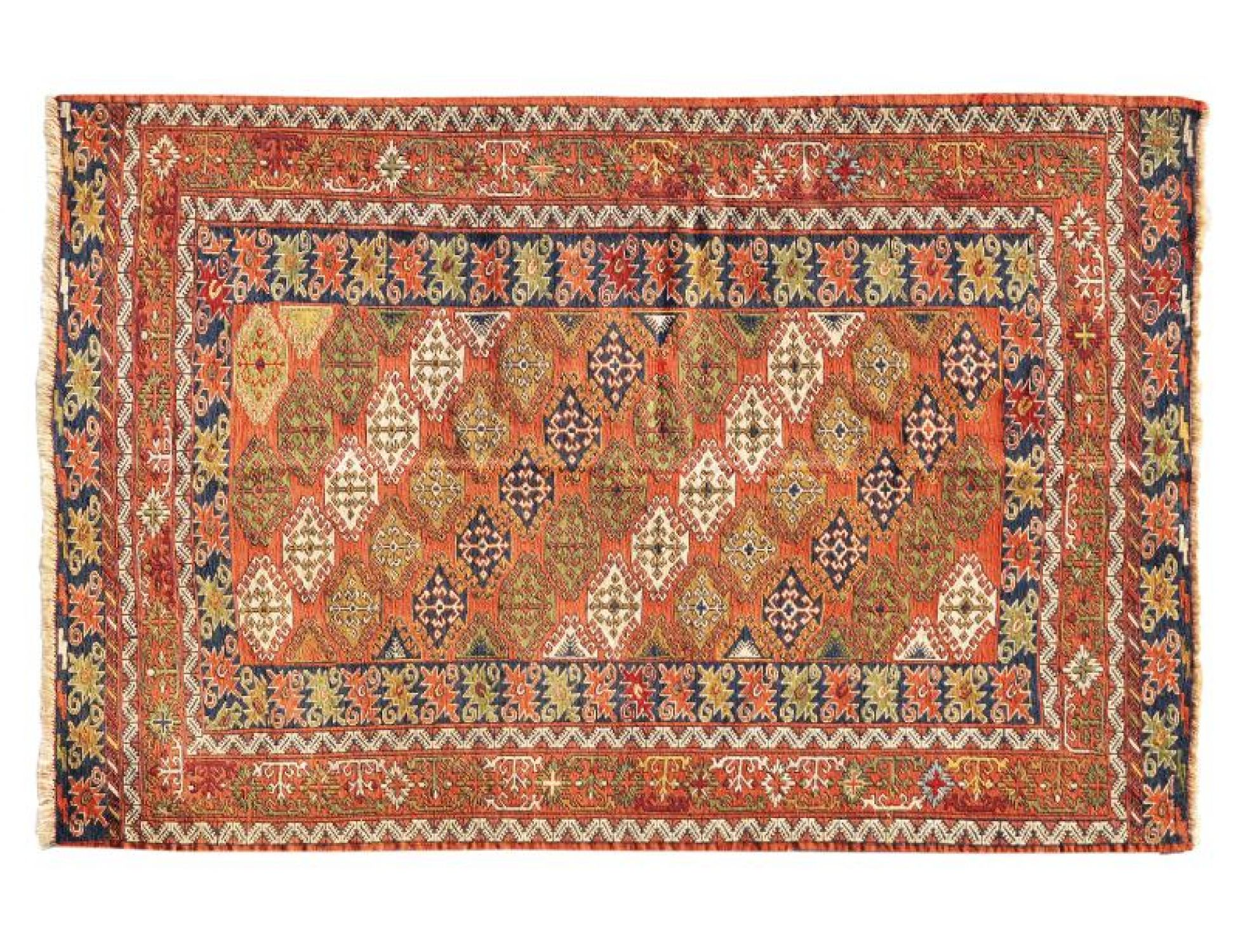 PERSIAN WOOL KILIMS  braun <br/>190 x 130 cm
