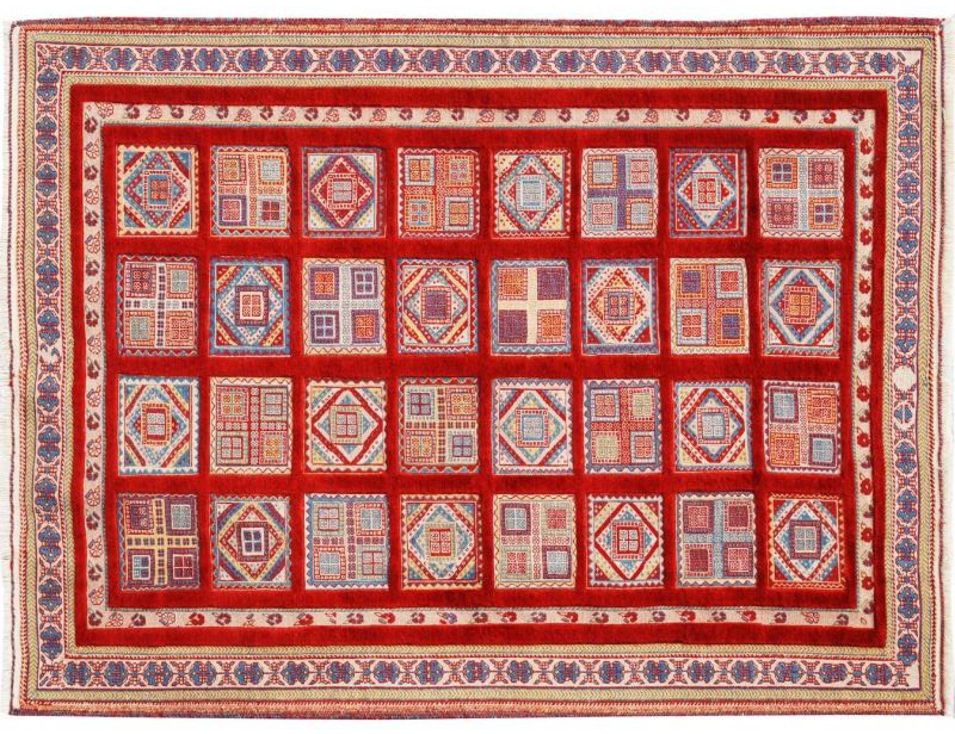 Perserteppich  mehrfarbig <br/>204 x 153 cm