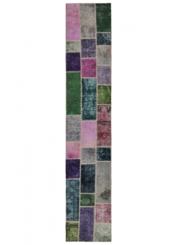 Persian Patchwork Carpet 369 X 70