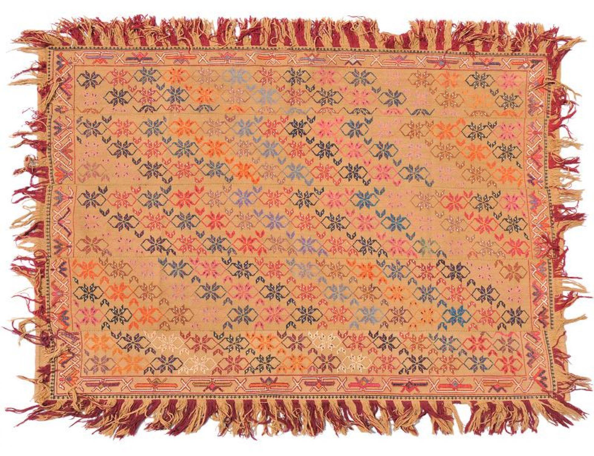 PERSIAN WOOL KILIMS  gelb <br/>197 x 153 cm