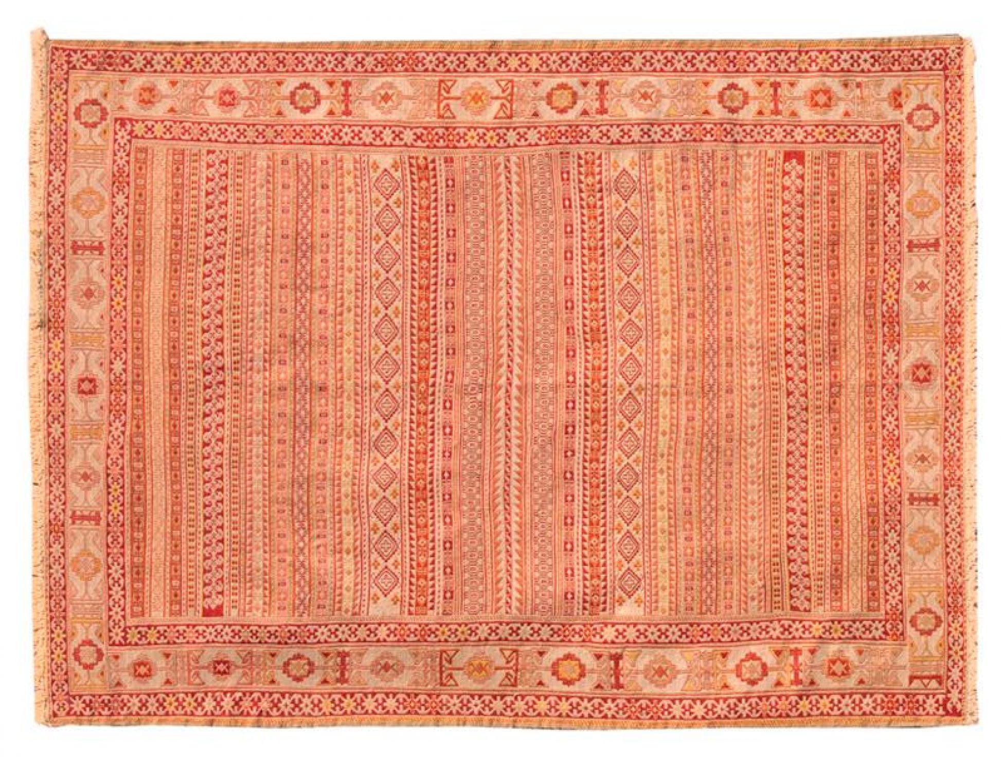 PERSIAN SILK KILIMS  gelb <br/>202 x 130 cm