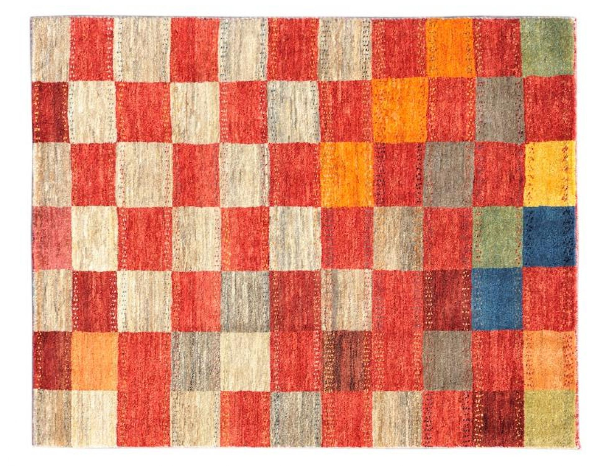 Moderne Teppiche  mehrfarbig <br/>142 x 102 cm