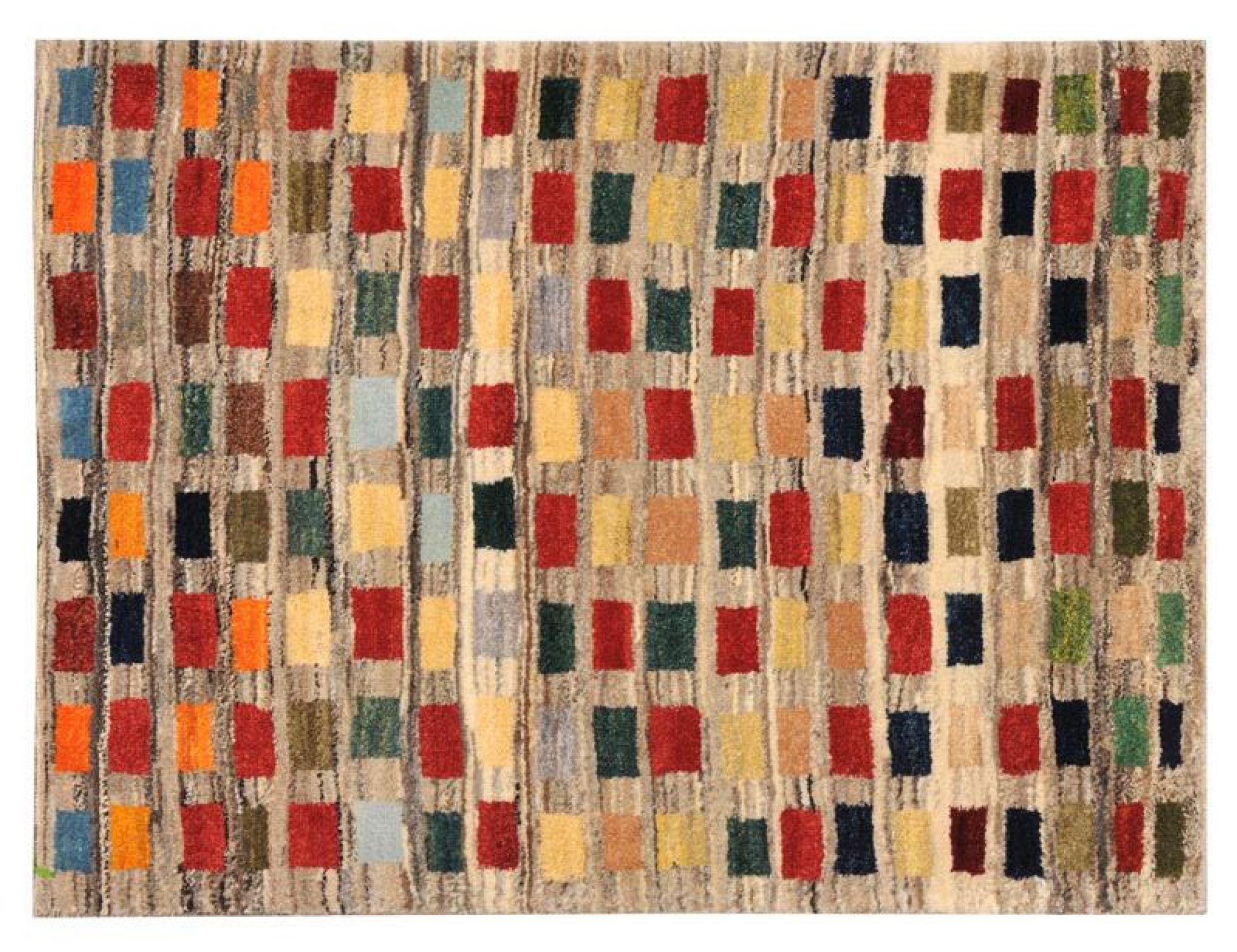 Moderne Teppiche  beige <br/>104 x 84 cm