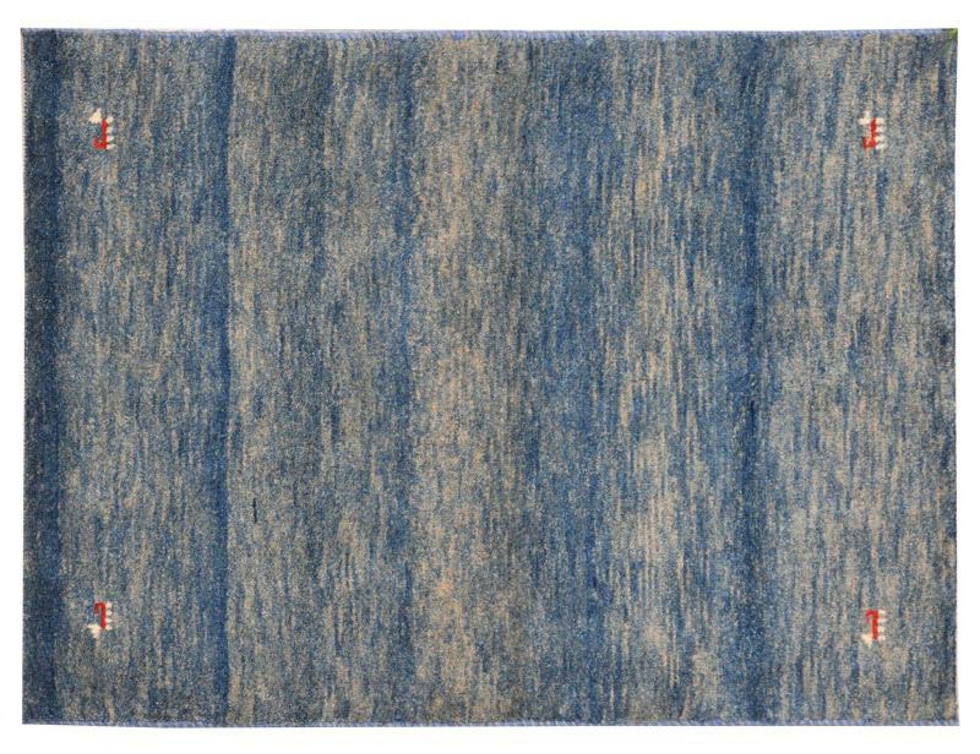 Alfombras modernas  azul <br/>119 x 77 cm