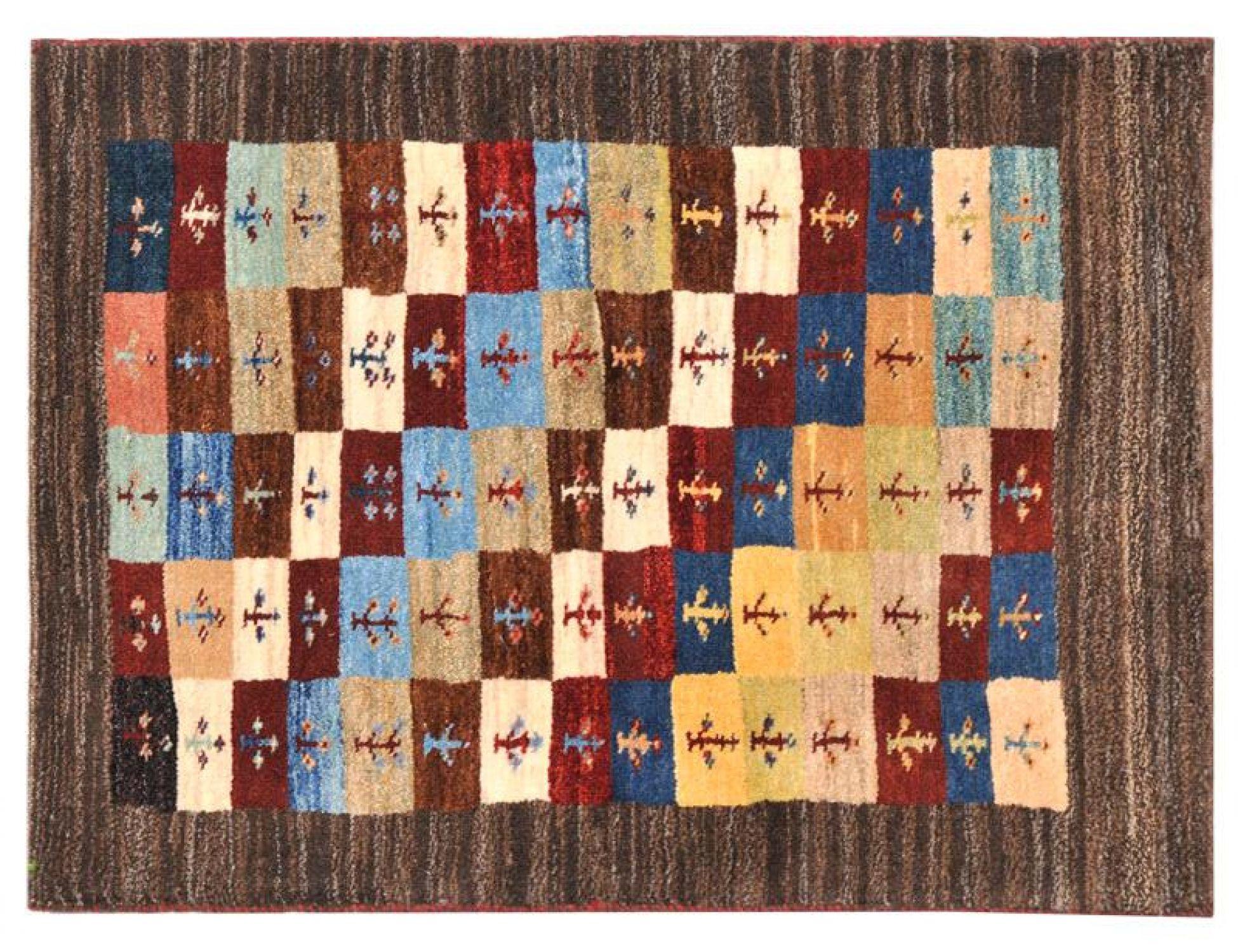 Moderne Teppiche  braun <br/>120 x 78 cm
