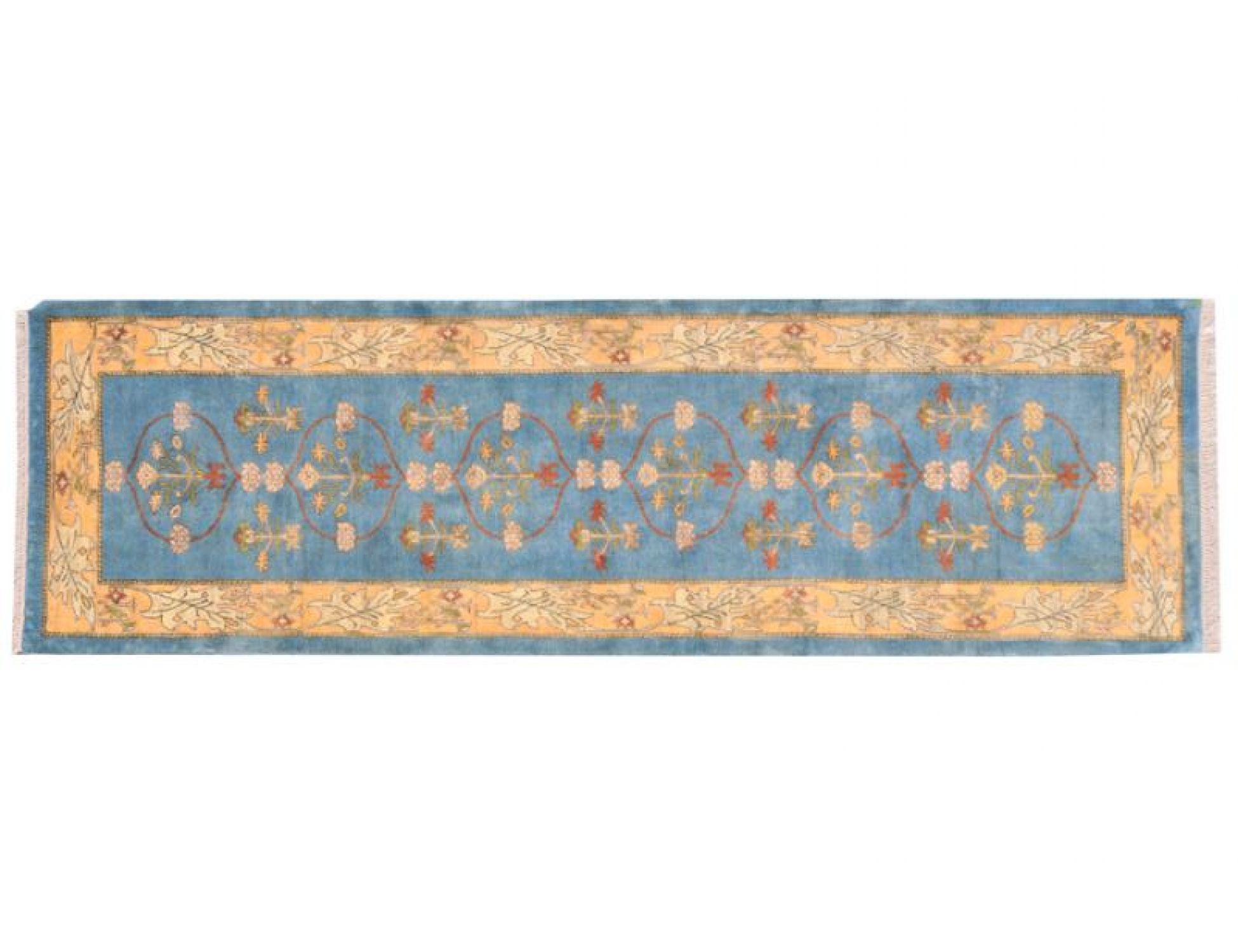 Perserteppich  blau <br/>277 x 87 cm