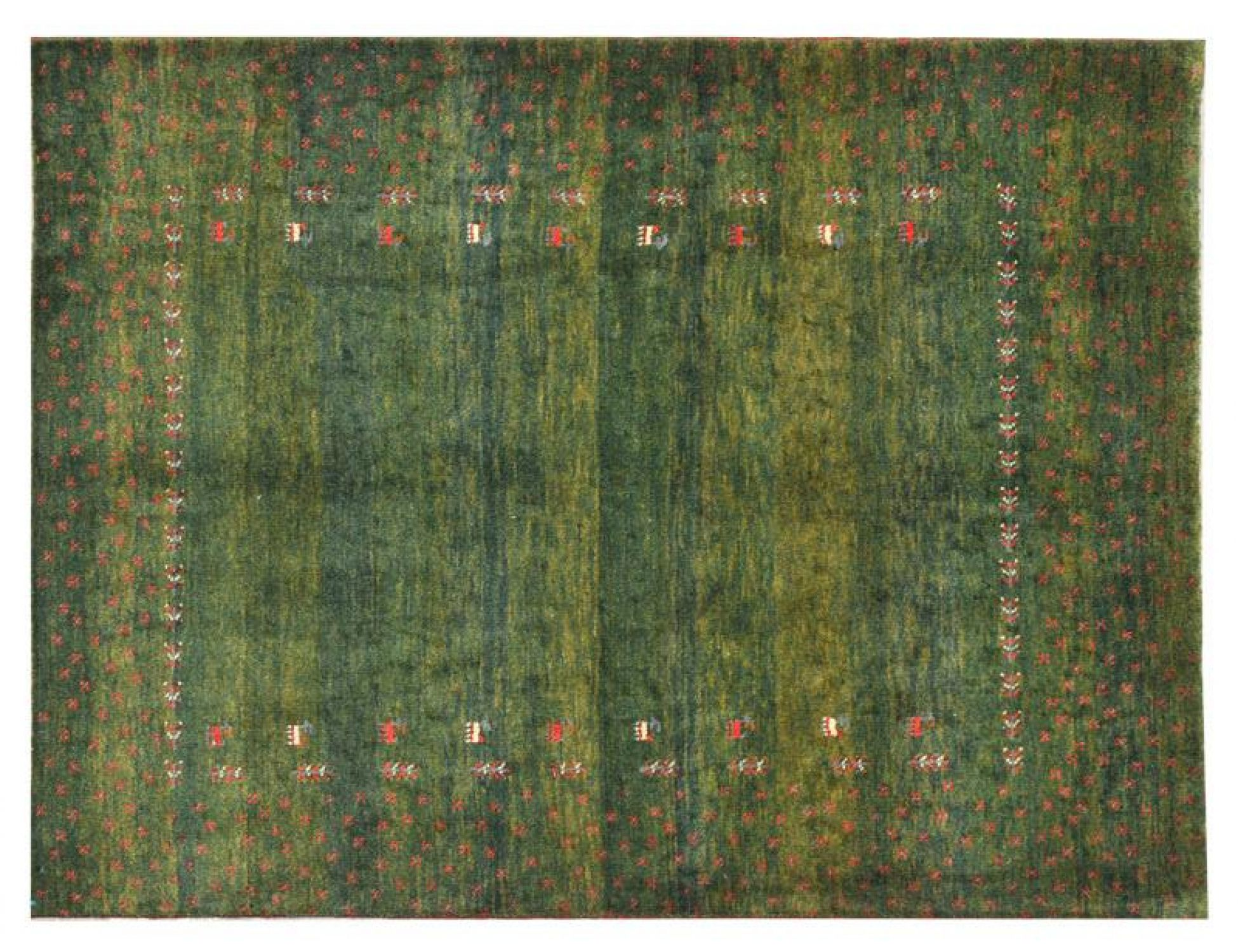 Moderne Teppiche  grün <br/>200 x 149 cm